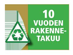 Terassilauta Juma Deck -komposiitti - rakennetakuu 10 vuotta