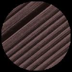 Terassilauta Juma Deck -komposiitti - tummanruskea
